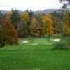 A fall view from a tee at Chambersburg Country Club