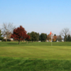 A view of a green at Rocky Spring Golf Course