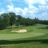 A view of a hole at Blackstone National Golf Club