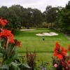A view from a tee at Pleasant Valley Country Club