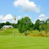 A view of a hole at Cohasse Country Club