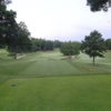 A view from a tee at Greenville Country Club
