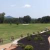 A view from the driving range tees at Green Valley Country Club
