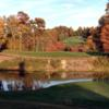 A fall season view from the Cliffs at Glassy Golf Course