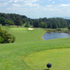 A view from the 10th tee at the Club from Ironwood
