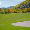 A view of a fairway at Canyons Golf Course