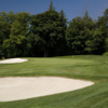 A view of the 1st hole at Wing Point Golf & Country Club