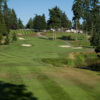 A view of the 18th fairway at Wing Point Golf & Country Club