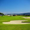 A view of green #1 at Interbay Family Golf Center