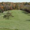 A fall view of fairway #3 at Echo Valley Golf Course