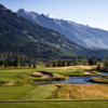A view from the 2nd tee Shooting Star of Jackson Hole
