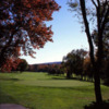 A view of the 3rd green from Red Nine at Tumble Brook Country Club