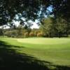 A view of a green at Palmer Hills Golf Course