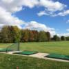 A view from the driving range tees at Crumlin Creek Golf Club