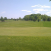 A view of the 16th green at Badger Creek Golf Course