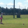 A view of a tee at Suncoast Golf Center