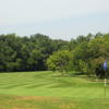 A view of a green at Twin Hills Country Club