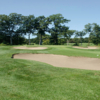 A view of the 1st green at Springfield Country Club