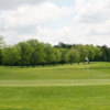 A view of a green at Orchard Hills Golf Club