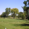 A view from a tee at Elkhorn Valley Golf Course
