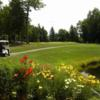 A view of the 3rd fairway at Hale's Location Country Club