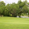 A view of the 3rd green at Glendale Lakes Golf Club