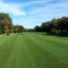 A view from a tee at Geneva-on-the-Lake Golf Course