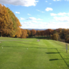 A fall view from Mount Odin Golf Course.