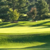 A sunny day view of a green at Hendersonville Country Club