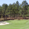 A view of the 1st green at Pit Golf Links (Golfholes)