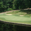 A view over the water of a green at Stonebridge Country Club