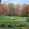 A view of a tee at Nippo Lake Golf Club