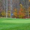 A view of a green at Nippo Lake Golf Club