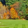 A fall view of a green at Farmington Country Club (GolfDigest)