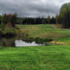 A view from a tee at Mountain Woods Golf Club