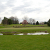 A view of the 4th green at Hominy Hill Golf Course