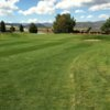 A view of a green at Star Valley View Golf Course