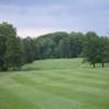 A view of a fairway at Peddie School Golf Course
