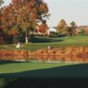 A sunny day view of a hole at Cherry Valley Country Club