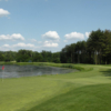 A view of hole #17 at Forest Course from Fiddler's Elbow Country Club