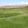A view from a tee at Coyote Willows Golf Club