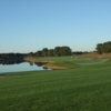 A view from a fairway at Colonial Springs Golf Course