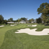 A view of the 18th green at Country Club of Darien