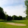A sunny day view from Mendon Golf Club