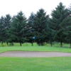 A view of a green at Arrowhead Golf Club