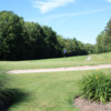 A view of the 3rd green at Blue Heron Hills Golf Club