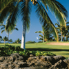 A view of hole #18 at Beach Course from Waikoloa Beach Resort