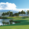 A view of the 2nd hole at Kings' Course from Waikoloa Beach Resort