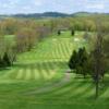A view of a fairway at Cedarbrook Golf Course