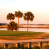 A view of the 18th hole at Oak Point from Kiawah Island Resort
